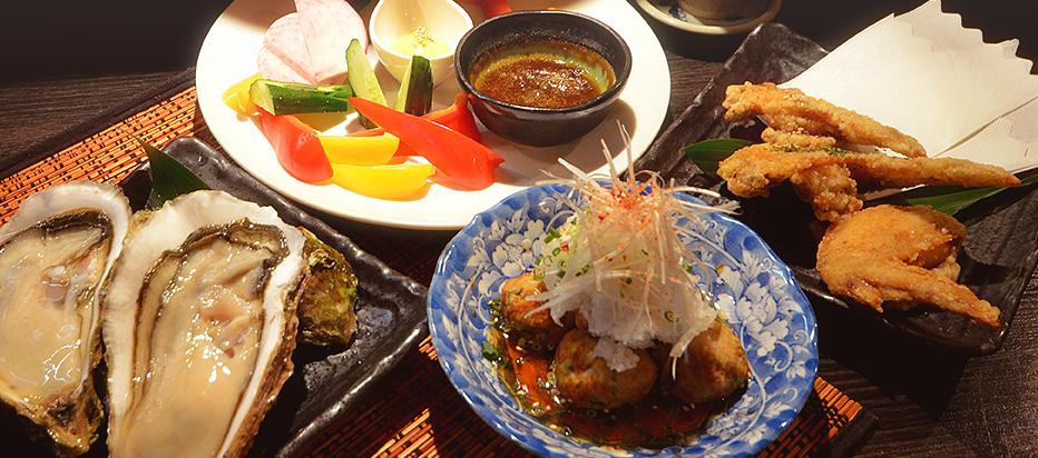 千歳烏山の居酒屋・宴会は日本酒・生牡蠣・一度来たらずっといたくなる「酒菜や 肇一」